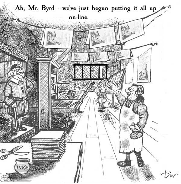 Ah, Mr Byrd - we've just begun putting it all up on-line.