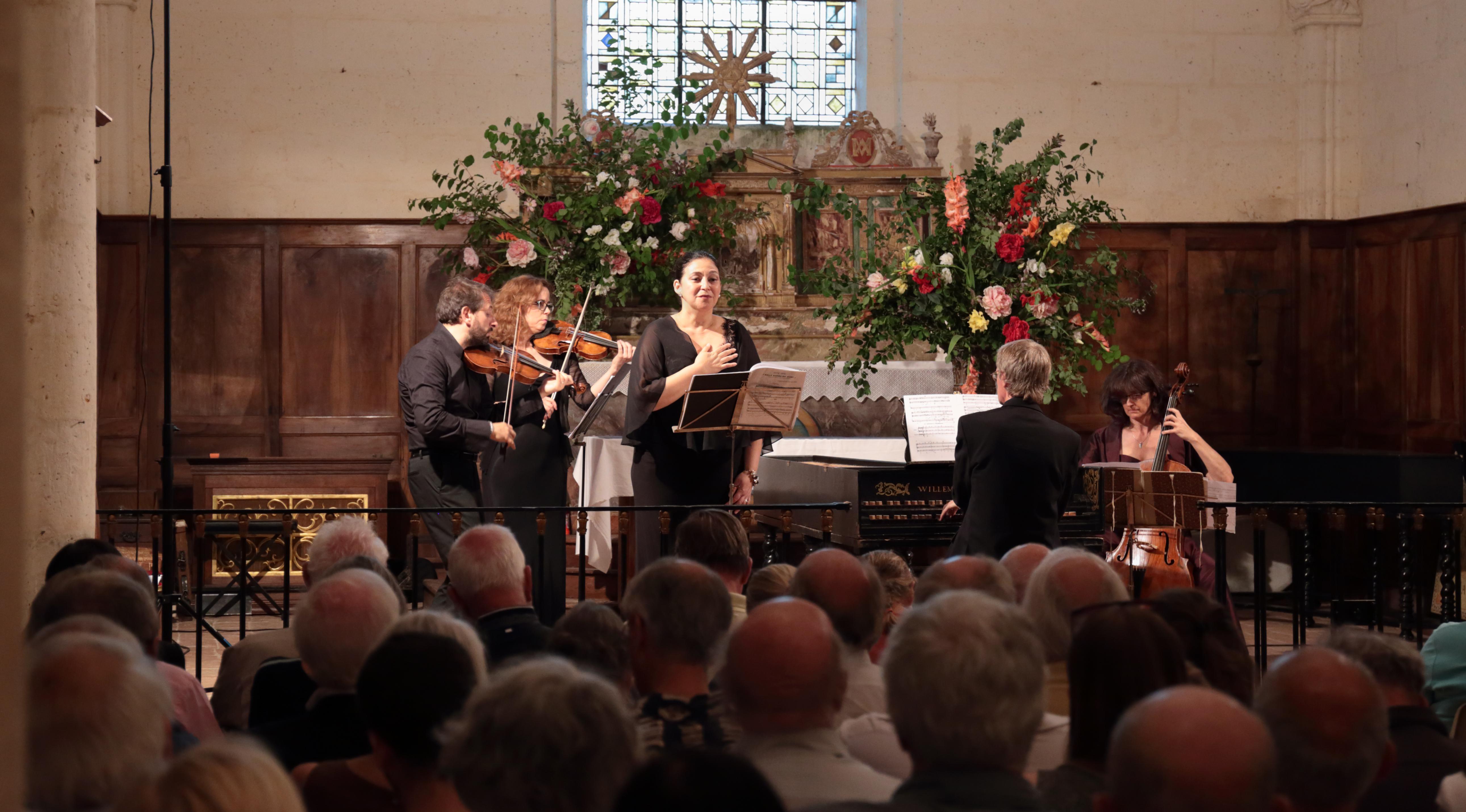 Soprano with orchestra