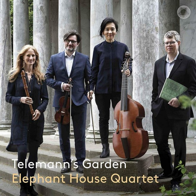Telemann's Garden CD cover