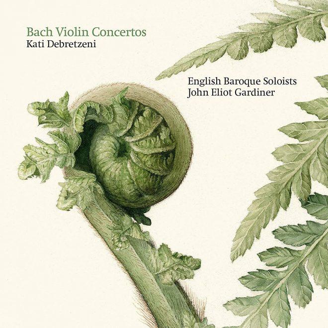 CD cover of Bach violin concertos