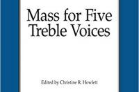 Gasparini Mass for five treble voices