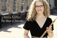 "Cover of Xenia Löffler's ""The oboe in Dresden"" CD"