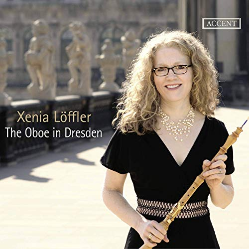 "Cover of Xenia Löffler's ""The oboe in Dresden"" CD"