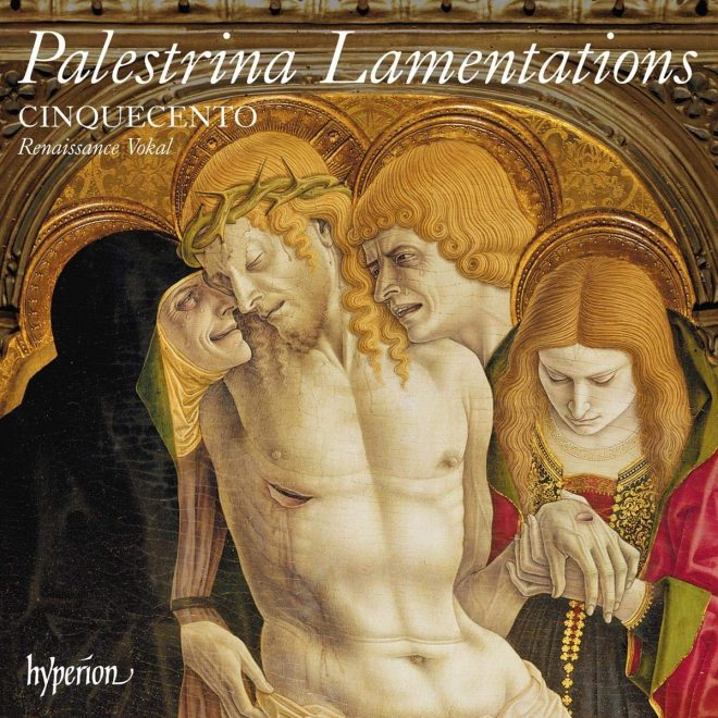 Cover of Cinquecento recording of Palestrina Lamentations vol. 2