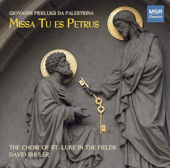 Palestrina Missa Tu es Petrus CD cover