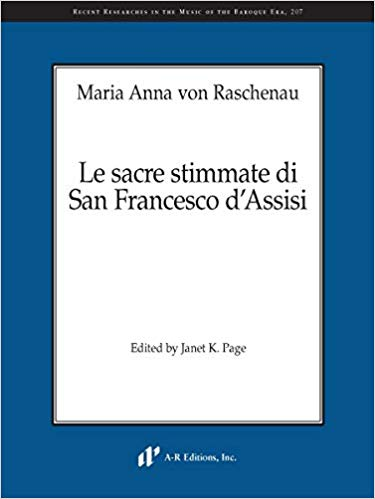 Cover of Raschenau oratorio RRMBE 207