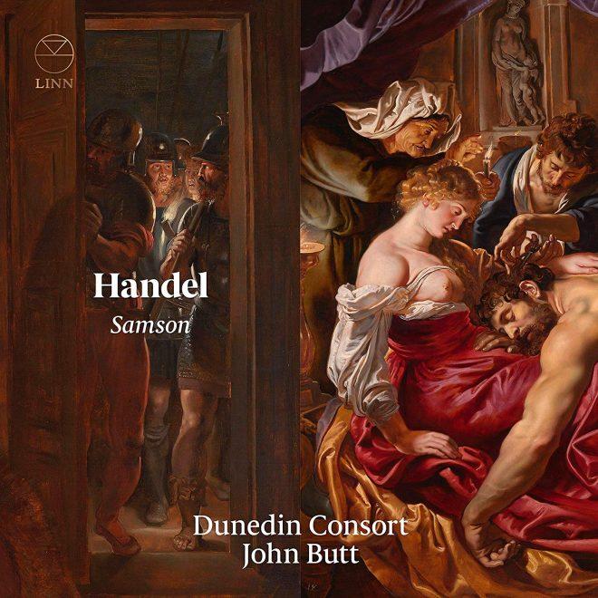 Box cover of Dunedin Consort's recording of Handel's Samson
