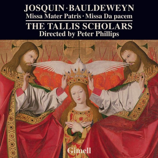 CD booklet cover for Josquin and Bauldeweyn