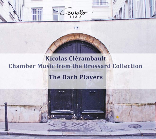 Booklet cover for The Bach Players' Clérambault CD