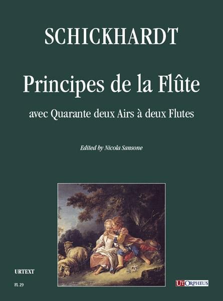 Schickhardt Ut orpheus edition cover