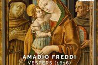 CD booklet cover for Freddi Vespers