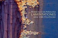 Peñalosa Lamentations CD cover