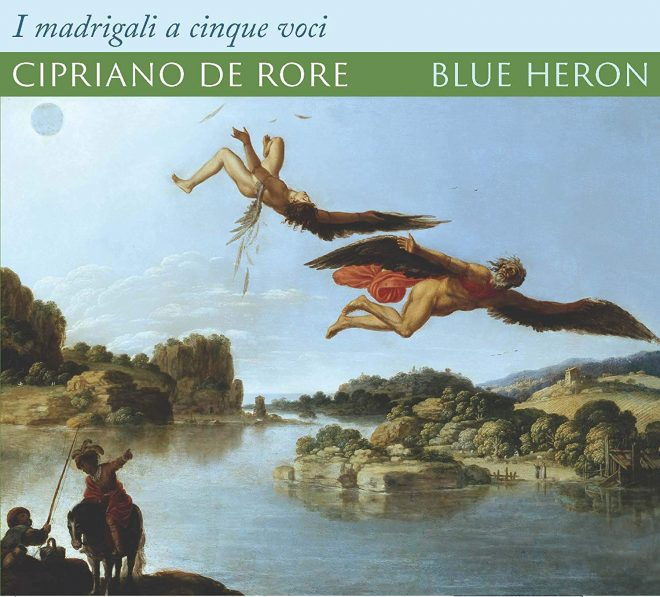 CD cover of Blue Heron da Rore madrigals recording