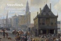 Sweelinck key board music CD cover Richard Egarr