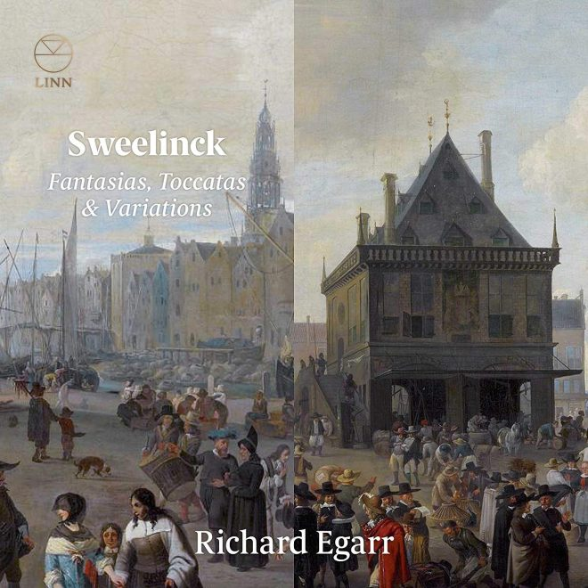 Sweelinck key board music CD cover Richard Egarr