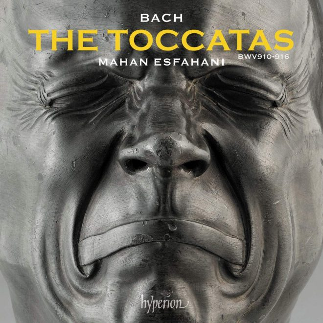 CD booklet cover for Bach: The toccatas