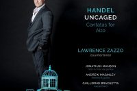 Zazzo Handel Uncaged cover of the CD