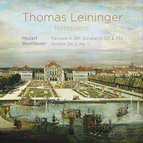 CD cover of Mozart and Beethoven recording