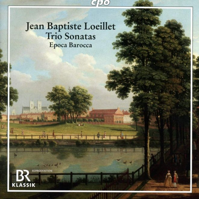 Loeillet Trio sonatas CD cover