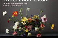 Cover of Tafelmusik CD Vivaldi Con amore