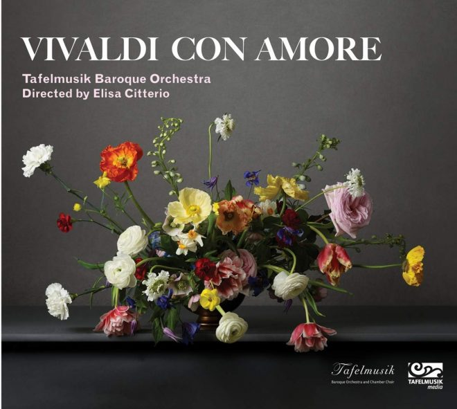 Cover of Tafelmusik CD Vivaldi Con amore