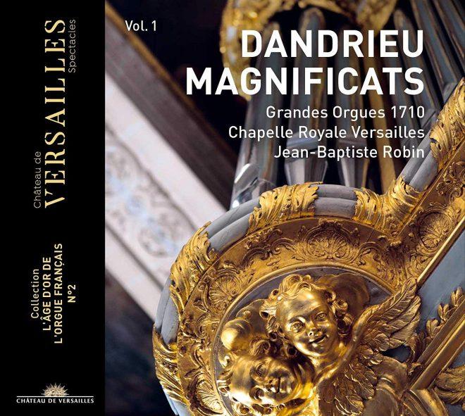 Cover of Dandrieu organ CD