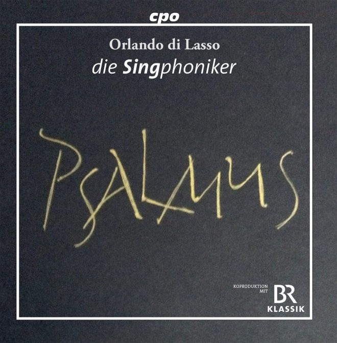 Lassus Psalmus CD cover
