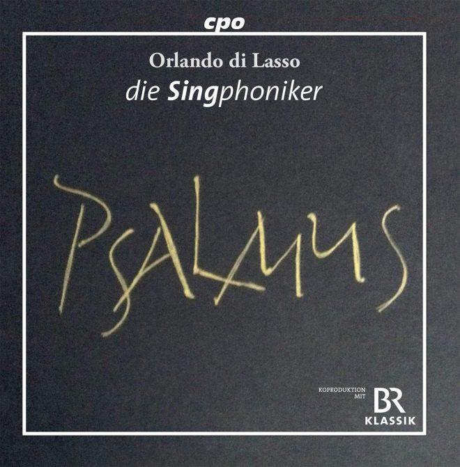 Lassus Psalmus CD cover