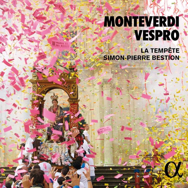 Bestion Monteverdi Vespro CD cover