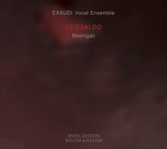 Exaudi Gesualdo madrigals CD cover