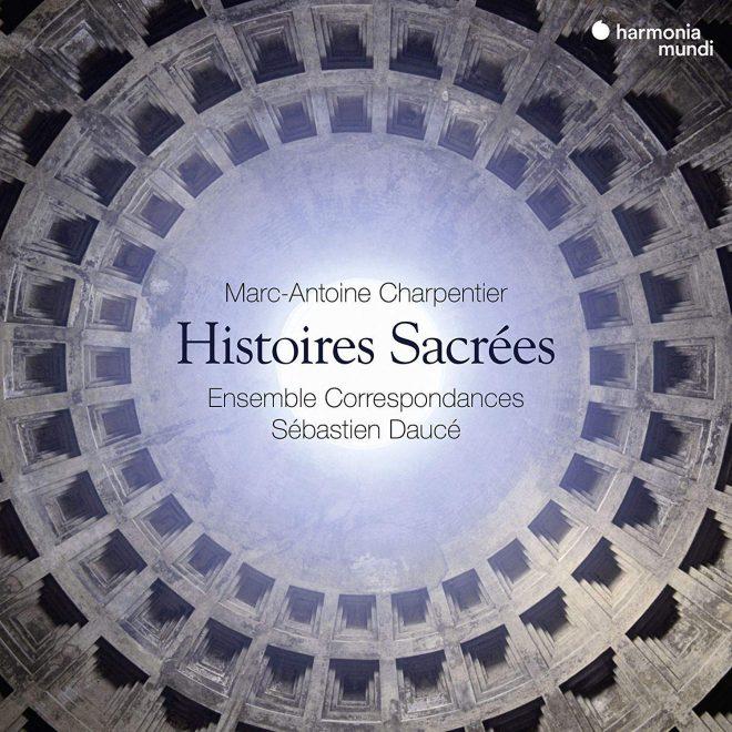 CD cover of Charpentier Histoires sacrées Daucé