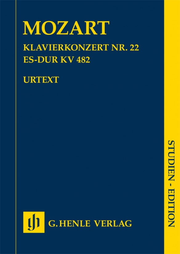 Cover of Henle Verlag 4270 Mozart Concerto in Es