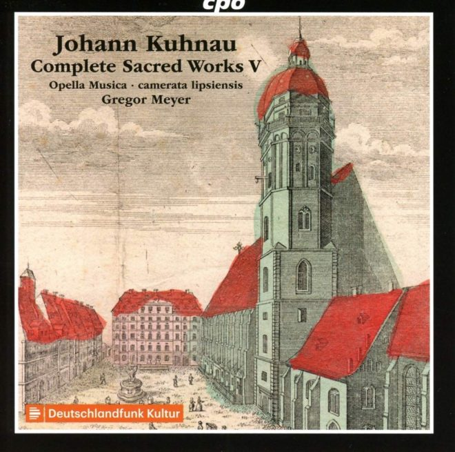 Cover of Kuhnau CD