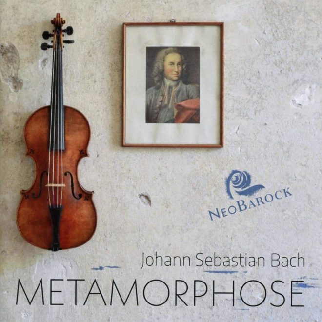 Cover of Neobarock Bach CD Metamorphose