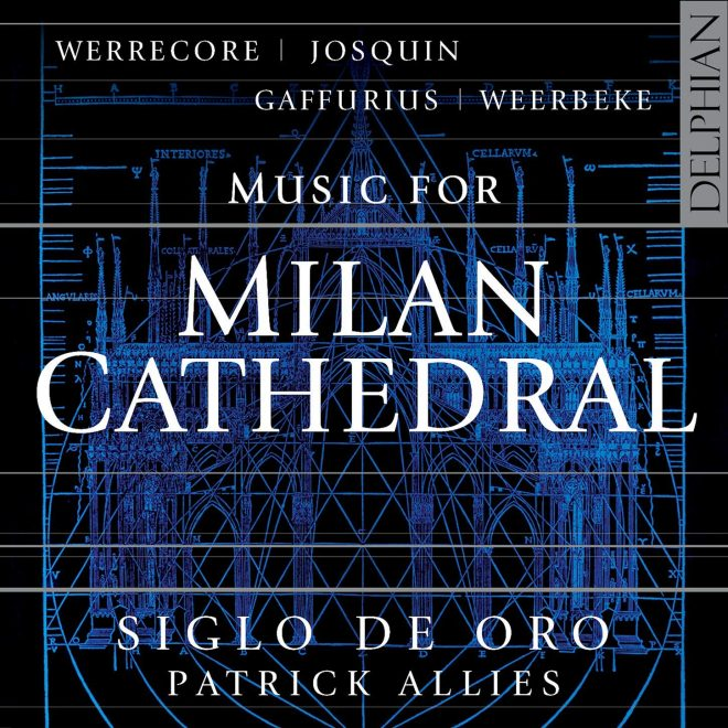 CD cover booklet for Music for Milan Cathedral