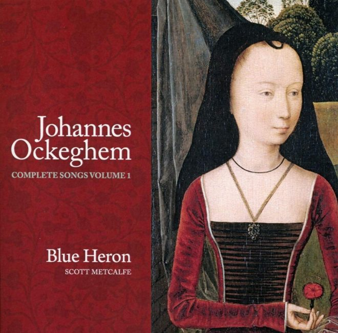 Cover of Blue Heron Ockeghem CD