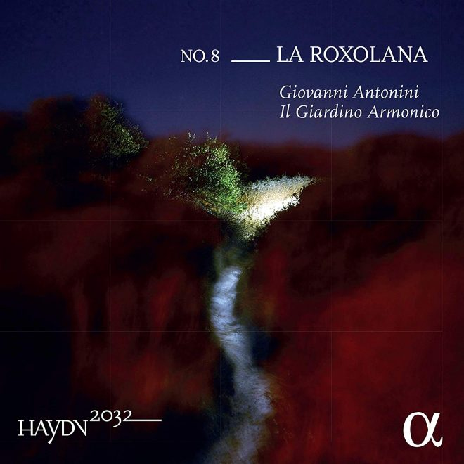 Haydn 2032 vol. 8 La roxolana CD cover