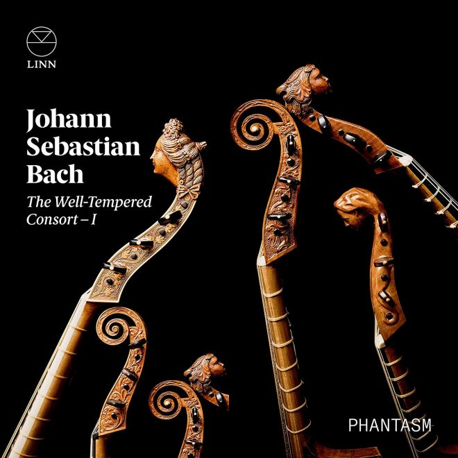 Cover of Phantasm CD of Bach transcriptions
