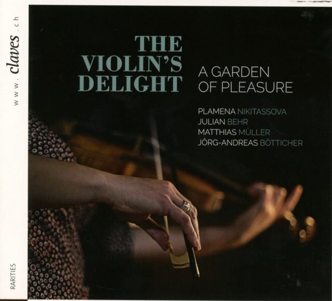 CD cover Nikitissova A garden of pleasure