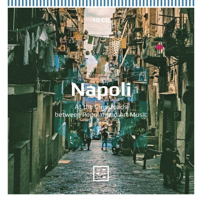 Cover of box of CDs called Napoli