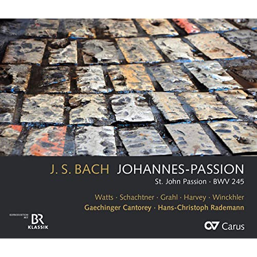 Cover of Bach Johannes Passion