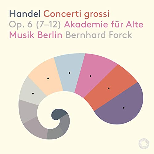 Akamus Handel op 6 CD cover