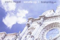 CD cover Pietro Migali op. 1 trio sonatas