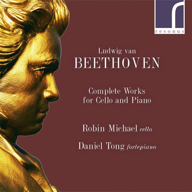 Cover of resonus Beethoven cello music CD