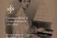 CD cover Clara Schumann chamber music