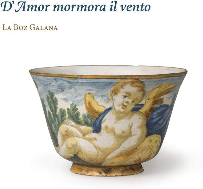 Cover of La voz galana's CD