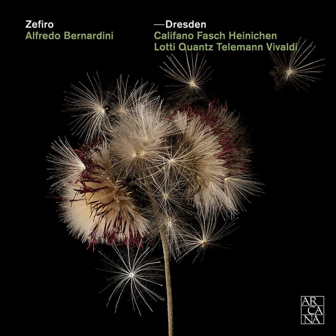 Cover of Zeifro CD devoted to Dresden baroque chamber music