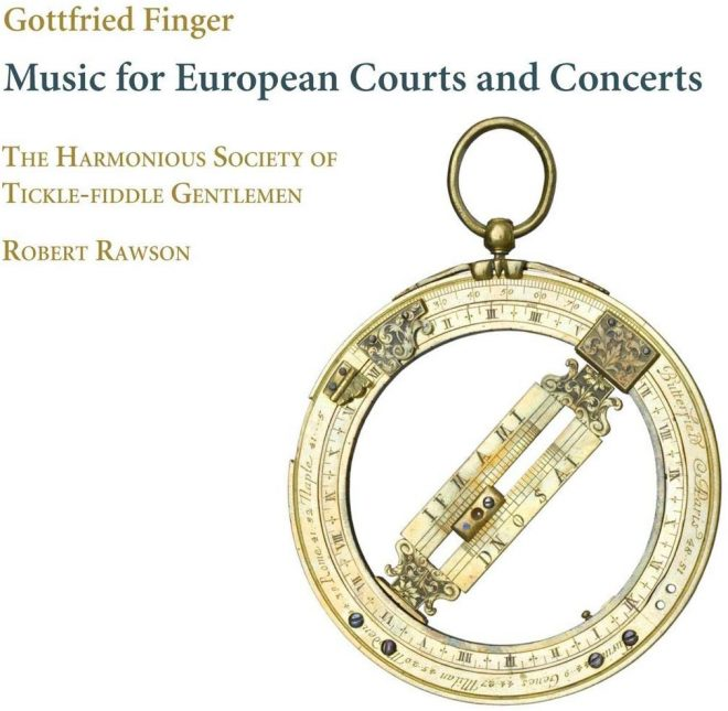 Finger: Music for European Courts CD cover