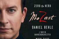 CD cover of David Behle Mozart Hero to zero