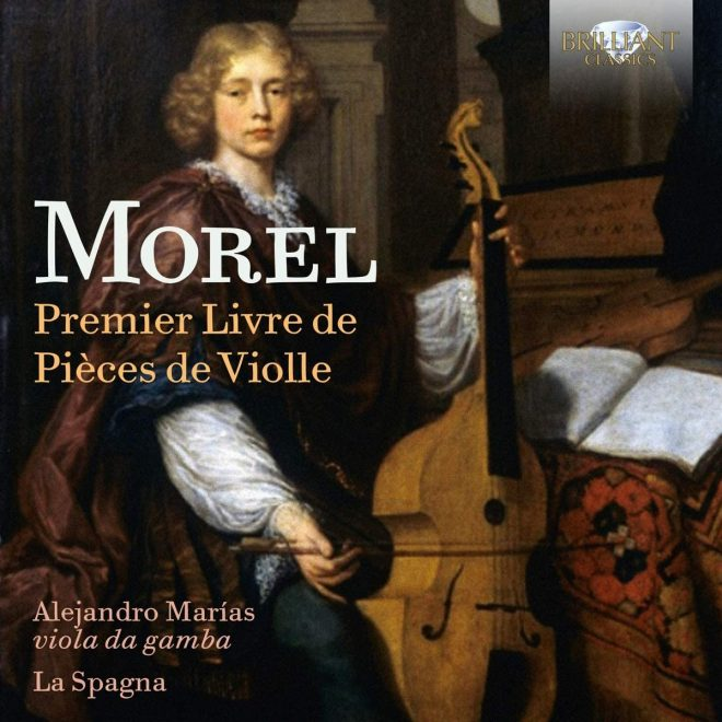 Cover of Morel viol music CD